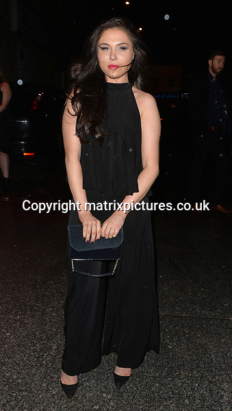 NON EXCLUSIVE PICTURE: MATRIXPICTURES.CO.UK<br /> <br /> PLEASE CREDIT ALL USES<br /> <br /> WORLD RIGHTS <br /> <br /> TOWIE reality TV star Fran Parman is spotted making a personal appearance at Pure Bar in Kent.<br /> <br /> JANUARY 29th 2016<br /> <br /> REF: LTN 16245
