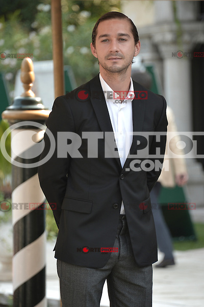 VENICE, ITALY - SEPTEMBER 06: Shia LaBeouf  arriving to the 69th Venice Film Festival at the Palazzo del Casino on September 6, 2012 in Venice, Italy. &copy;&nbsp;Maria Laura Antonelli/AGF/MediaPunch Inc. ***NO ITALY*** /NortePhoto.com<br />