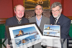 Pictured at the launch of the Killarney Lions Club calendar in aid of the Kerry Parents and Friends in the Killarney Park Hotel on Friday night were Tadhg Kelleher, Killarney Camera Club, Martin O'Brien, president Killarney Lions Club and Tony Darmody, Kerry Parents and Friends.