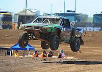 Apr 16, 2011; Surprise, AZ USA; LOORRS driver Chad George (42) during round 3 at Speedworld Off Road Park. Mandatory Credit: Mark J. Rebilas-.