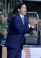FC Barcelona Regal's coach Xavi Pascual during Liga Endesa ACB match.November 18,2012. (ALTERPHOTOS/Acero) NortePhoto