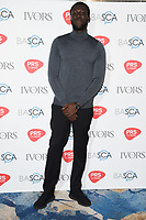 Stormzy arriving for the Ivor Novello Awards 2018 at the Grosvenor House Hotel, London, UK. <br /> 31 May  2018<br /> Picture: Steve Vas/Featureflash/SilverHub 0208 004 5359 sales@silverhubmedia.com