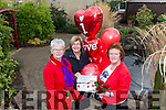 PUTTING THEIR HEARTS INTO IT: Ladies from Recovery Haven are organising a 'Valentines with a Difference' on Tuesday evening February 14th in The Rose Hotel. Pictured from l-r were: Eileen Comerford, Maureen O'Brien and Philomena Stack.
