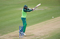 Hashim Amla  (South Africa) cuts backward of point for a boundary during South Africa vs West Indies, ICC World Cup Warm-Up Match Cricket at the Bristol County Ground on 26th May 2019