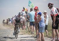 Jonathan Castroviejo (ESP/Sky) <br /> <br /> Stage 9: Arras Citadelle > Roubaix (154km)<br /> <br /> 105th Tour de France 2018<br /> ©kramon