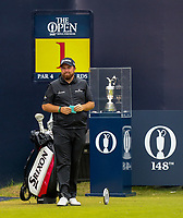 210719 | The 148th Open - Final Round<br /> <br /> Shane Lowry of Ireland on the 1st during the final round of the 148th Open Championship at Royal Portrush Golf Club, County Antrim, Northern Ireland. Photo by John Dickson - DICKSONDIGITAL