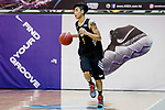 Tang Wing Lok #5 of Eagle Basketball Team dribbles the ball up court during the Hong Kong Basketball League game between Tycoon vs Eagle at Southorn Stadium on May 11, 2018 in Hong Kong. Photo by Yu Chun Christopher Wong / Power Sport Images