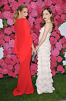 Laura Pradelska and Louisa Connolly-Burnham at the Remembering Audrey Hepburn charity gala celebating the life of the late actress, Royal Lancaster Hotel, Lancaster Terrace, London, England, UK, on Saturday 06 October 2018.<br /> CAP/CAN<br /> &copy;CAN/Capital Pictures