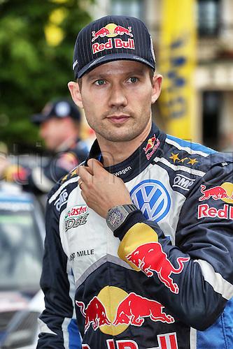 02.07.2016. Mikolajki, Poland. WRC Rally of Poland, stages 12-17.  Sebastien Ogier (FRA) – Julien Ingrassia (FRA) - Volkswagen Polo R WRC