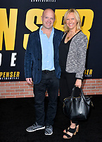 """LOS ANGELES, CA: 27, 2020: Sean O'Keefe & Guest at the world premiere of """"Spenser Confidential"""" at the Regency Village Theatre.<br /> Picture: Paul Smith/Featureflash"""