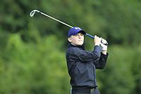 Padraic McNeela (Oughterard) on the 1st tee during the Connacht U12, U14, U16, U18 Close Finals 2019 in Mountbellew Golf Club, Mountbellew, Co. Galway on Monday 12th August 2019.<br /> <br /> Picture:  Thos Caffrey / www.golffile.ie<br /> <br /> All photos usage must carry mandatory copyright credit (© Golffile | Thos Caffrey)