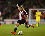 Harry Chapman of Sheffield Utd during the League One match at Bramall Lane Stadium, Sheffield. Picture date: September 27th, 2016. Pic Simon Bellis/Sportimage