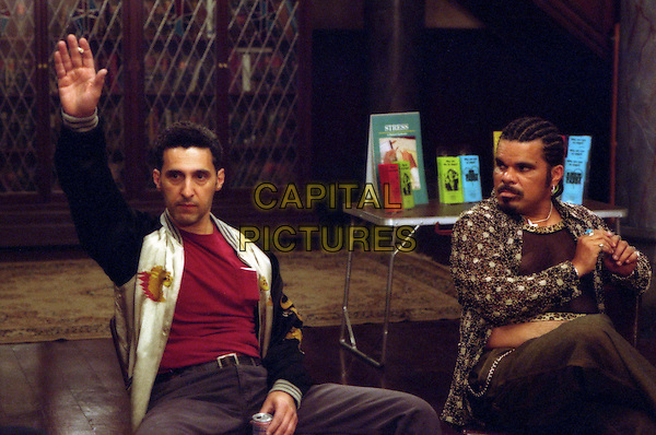 l to r) Chuck (John Turturro) and Lou (Luis Guzman) are two members of an eccentric anger management group in Revolution StudiosÍ comedy Anger Management, a Columbia Pictures release..Filmstill - Editorial Use Only.Ref: FB.sales@capitalpictures.com.www.capitalpictures.com.Supplied by Capital Pictures.