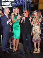 June 15 , 2012 Tim Gunn, Heidi Klum, Michael Kors, Nina Garcia at  Project Runway's 10th Anniversary Kick-Off at Times Square in New York City. © RW/MediaPunch Inc.