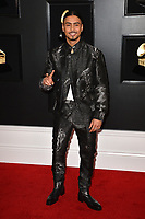 LOS ANGELES, CA - FEBRUARY 10: Quincy Brown at the 61st Annual Grammy Awards at the Staples Center in Los Angeles, California on February 10, 2019. <br /> CAP/MPIFS<br /> &copy;MPIFS/Capital Pictures