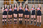 The 2014 Tuscola Warrior Volleyball Seniors. From left are Noura Sutton, Kaleigh Smith, Lani Little, Taylor Bosch, Brooke Little, Peyton Shelmadine, and Morgan Little.