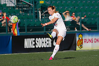 Rochester, NY - Friday June 17, 2016: Western New York Flash midfielder Samantha Mewis (5) during a regular season National Women's Soccer League (NWSL) match between the Western New York Flash and the Portland Thorns FC at Rochester Rhinos Stadium.