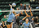 Tulane defeats UTEP, 3-1, in Women's C-USA volleyball action at Devlin Fieldhouse.
