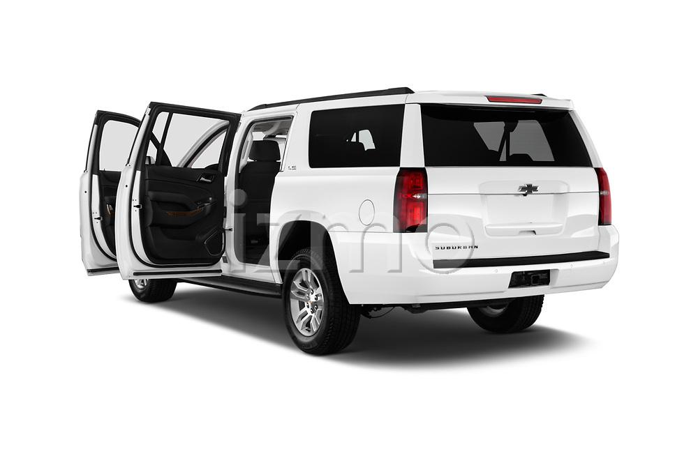 Car images close up view of 2016 Chevrolet Suburban 1500 LS 5 Door SUV doors