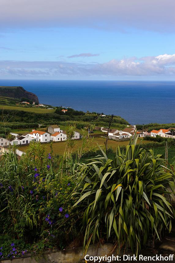 bei Mosteiros auf der Insel Sao Miguel, Azoren, Portugal