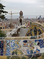 Serpentine Bench<br /> <br /> This bench is located in the Guell Park created by Gaudi in Barcelona, Spain.
