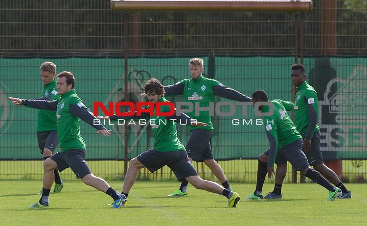 01.09.2013, Trainingsgelaende, Bremen, GER, 1.FBL, Training Werder Bremen, im Bild Neuzugang Santiago Garcia<br /> <br /> Foto &not;&copy; nph / Frisch *** Local Caption ***