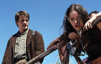 Serenity (2005) <br /> Nathan Fillion &amp; Summer Glau<br /> *Filmstill - Editorial Use Only*<br /> CAP/KFS<br /> Image supplied by Capital Pictures
