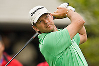 March 27, 2009, Arnold Palmer Invitational * Second Round*.  Retief Goosen tees off on the 10th tee during second round play  at Bay Hill Golf Club in Orlando, Florida...