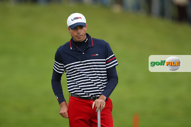 Matt Kuchar (USA) during Sunday's Singles at the 2014 Ryder Cup from Gleneagles, Perthshire, Scotland. Picture:  David Lloyd / www.golffile.ie