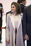 Queen Letizia during his visit to FITUR 2017 at IFEMA in Madrid, Spain. January 18, 2017. (ALTERPHOTOS/BorjaB.Hojas)