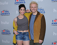 11 October  2017 - Hollywood, California - Sarah Silverman, Michael Sheen. Premiere of Hulu's &quot;I Love You, America with Sarah Silverman&quot; held at Chateau Marmont in Hollywood. <br /> CAP/ADM/BT<br /> &copy;BT/ADM/Capital Pictures