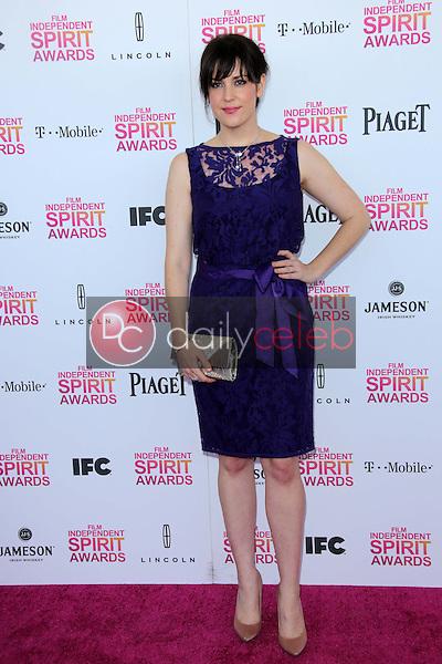 Mekanie Lynskey<br /> at the 2013 Film Independent Spirit Awards, Private Location, Santa Monica, CA 02-23-13<br /> David Edwards/DailyCeleb.com 818-249-4998