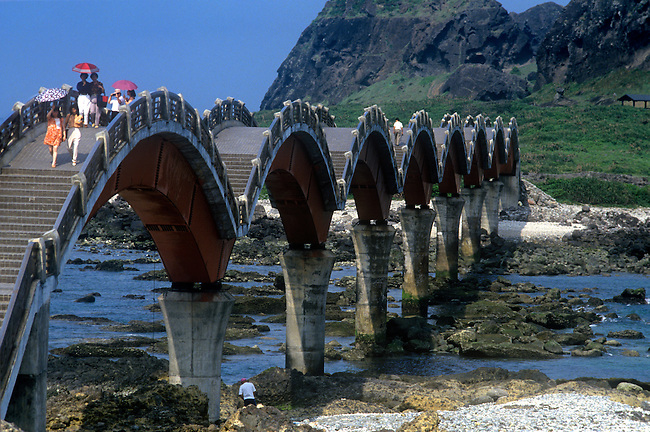 Sansientai Bridge, Three Immortals Terrace, Taiwan