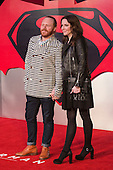 London, UK. 22 March 2016. Leigh Francis and Jill Carter. Warner Bros. Pictures presents the European Premiere of Batman v Superman, Dawn of Justice. The movie, directed by Zack Snyder, stars Ben Affleck as Batman/Bruce Wayne and Henry Cavill as Superman/Clark Kent in the characters' first big-screen pairing. The movie opens in cinemas on 25 March 2016. © Vibrant Pictures/Alamy Live News