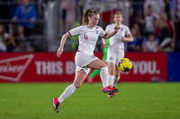 5th March 2020, Orlando, Florida, USA;  England midfielder Keira Walsh (4) controls the ball during the SheBelieves Cup match between England and the USA on March 5, 2020, at Exploria Stadium in Orlando FL.