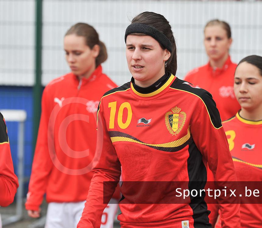 Belgium U19 - Switzerland U19 : Laura De Neve.foto DAVID CATRY / Nikonpro.be