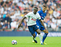 Tottenham's Victor Wanyama during the Premier League match between Tottenham Hotspur and Chelsea at Wembley Stadium, London, England on 20 August 2017. Photo by Andrew Aleksiejczuk / PRiME Media Images.