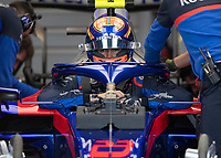 Alexander ALBON (THA) (RED BULL TORO ROSSO HONDA) during the Formula 1 Rolex British Grand Prix 2019 at Silverstone Circuit, Towcester, England on 14 July 2019. Photo by Vince  Mignott.
