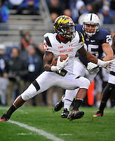 01 November 2014:  Maryland WR/KR Stefon Diggs (1). The Maryland Terrapins defeated the Penn State Nittany Lions 20-19 at Beaver Stadium in State College, PA.