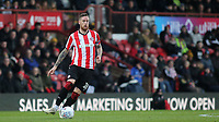 Brentford's Pontus Jansson in action during Brentford vs Luton Town, Sky Bet EFL Championship Football at Griffin Park on 30th November 2019