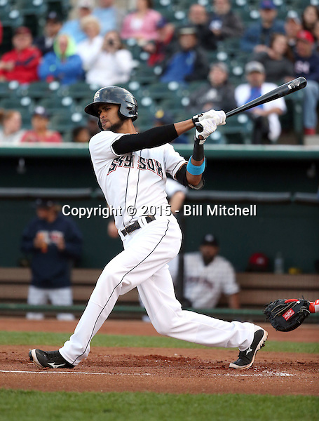 Yadiel Rivera -2015 Colorado Springs Sky Sox (Bill Mitchell)