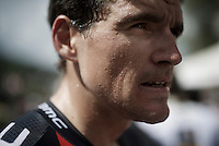 sweaty Greg Van Avermaet (BEL/BMC) after the finish<br /> <br /> Stage 18 (ITT) - Sallanches &rsaquo; Meg&egrave;ve (17km)<br /> 103rd Tour de France 2016