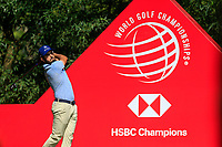 Amraham Ancer (USA) on the 9th tee during the 3rd round of the WGC HSBC Champions, Sheshan Golf Club, Shanghai, China. 02/11/2019.<br /> Picture Fran Caffrey / Golffile.ie<br /> <br /> All photo usage must carry mandatory copyright credit (© Golffile | Fran Caffrey)