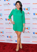 "BURBANK, CA, USA - APRIL 26: Ginger Gonzaga at the Lollipop Theater Network's Night Under The Stars Screening Of Twentieth Century Fox's ""Rio 2"" Hosted by Anne Hathaway held at Nickelodeon Animation Studios on April 26, 2014 in Burbank, California, United States. (Photo by Xavier Collin/Celebrity Monitor)"