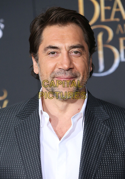 02 March 2017 - Hollywood, California - Javier Bardem. Disney's &quot;Beauty and the Beast' World Premiere held at El Capitan Theatre.   <br /> CAP/ADM/FS<br /> &copy;FS/ADM/Capital Pictures
