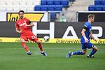 Torchance: Mark Uth (1. FC Koeln).<br /> <br /> Sport: Fussball: 1. Bundesliga: Saison 19/20: 28. Spieltag: TSG 1899 Hoffenheim - 1. FC Koeln, 27.05.2020<br /> <br /> Foto: Markus Gilliar/GES/POOL/PIX-Sportfotos.<br /> <br /> Nur für journalistische Zwecke! Only for editorial use!<br /> <br /> Gemäß den Vorgaben der DFL Deutsche Fußball Liga ist es untersagt, in dem Stadion und/oder vom Spiel angefertigte Fotoaufnahmen in Form von Sequenzbildern und/oder videoähnlichen Fotostrecken zu verwerten bzw. verwerten zu lassen. DFL regulations prohibit any use of photographs as image sequences and/or quasi-video.