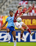 Johanna Rasmussen, Dyanne Bito, Women's EURO 2009 in Finland.Denmark-Netherlands, 08292009, Lahti Stadium