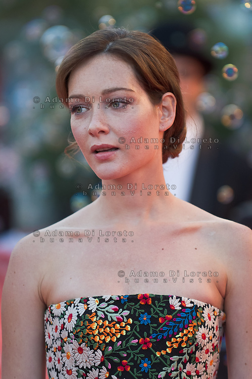 Actress Cristiana Capotondi attends 'The Zero Theorem' Premiere during the 70th Venice International Film Festival at the Palazzo del Cinema on September 2, 2013. (Photo by Adamo Di Loreto/BuenaVista*photo)