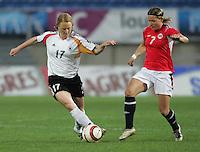 MAR 13, 2006: Faro, Portugal:  Melanie Behringer, Trine Ronning