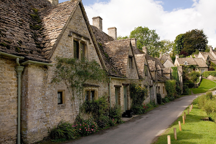 Arlington Row Bldgs in the Cotswalds,Bibury, England
